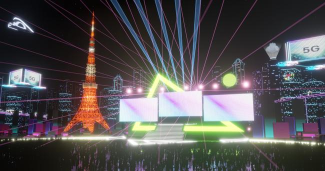 「100年後の東京タワー」が楽しめる。VR空間「バーチャル東京タワー」11月オープン