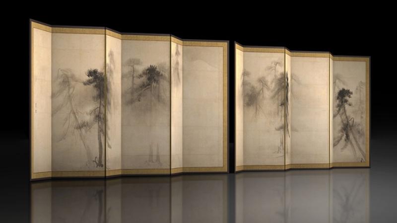 VR「松林図屛風」、「TNM & TOPPAN ミュージアムシアター」にて公開へ